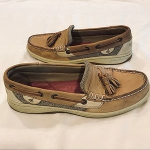 Sperry topsider with tassels size 7 1/2 M